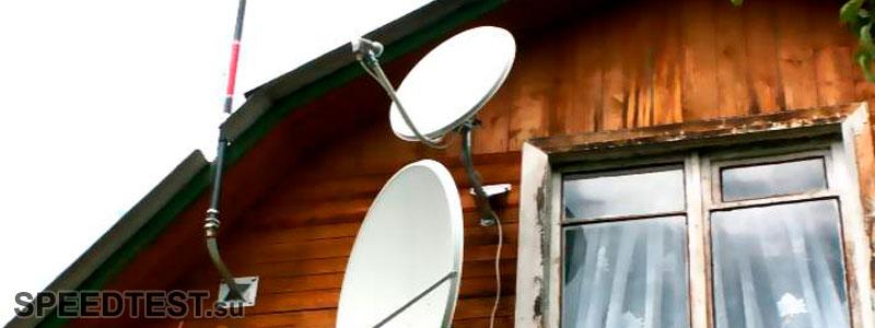 спутниковый интернет для дачи